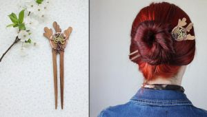 Blossom Tree hair pin by WhiteSquaw