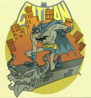 Batman: On Patrol by tyrannus