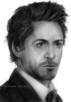 Robert Downey Jr by RoyallyCrimson
