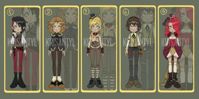 Steampunk - Adopt [CLOSED] by Krisantyl