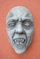 Weeping Angel Mask by jazz-man556677