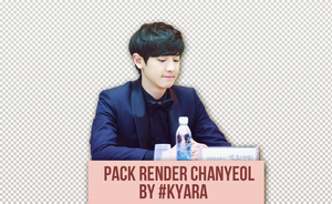 [Request] Pack Render/PNG+Stock ChanYeol by Kyara by KyaraSagami186