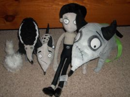 frankenweenie collection7 by queenashley455