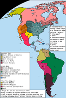The Americas (from the United States of Europe) by ZekSora