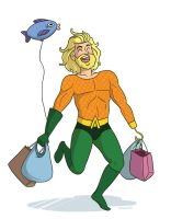 Aquaman does stuff by TRAVALE