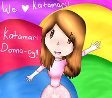 Katamari DONNA-cy! by Anime-Gamer-Girl