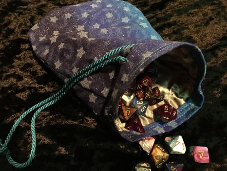 Dice Bag: Galaxy by Dragon--Feathers