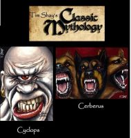 Classic Mythology Sample Sketches by Dr-Horrible