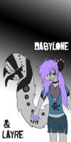 Babylone and Layre by maniacalmarie16
