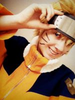 Me as Naruto by blackroze741