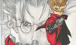 Trigun by blackroseromance