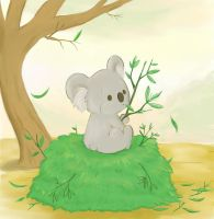 Little Koala Gets Greedy by xxhauntedxx