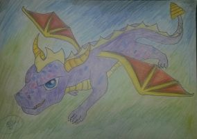 Spyro the Dragon by kgbm