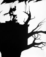 Tree Shillouette by AugustRaes