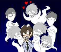 Ouran GHOST Club by Bogswallop