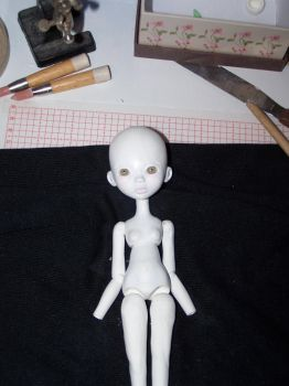small doll porcelain wip by abbeylubber