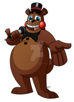 Toy Freddy by GiantPurpleCat
