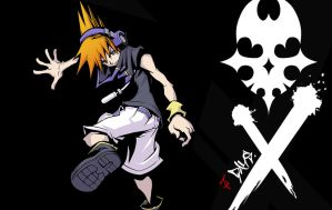 Neku (TWEWY) Wallpaper by XylaTakura07
