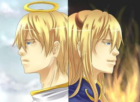 Heaven and Hell by mikokume-raie