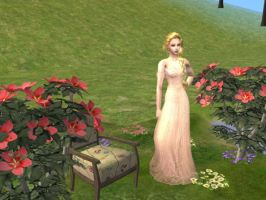 Sims 2 : Flowers by theBloodRaven