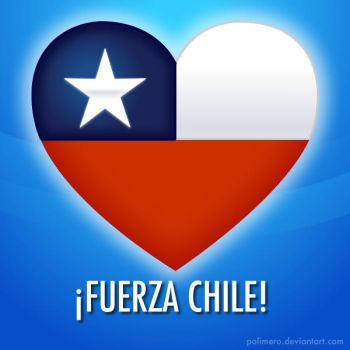 FUERZA CHILE by polimero