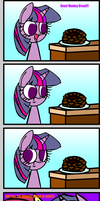 Twilight loves Monkey Bread by Mushroom-Cookie-Bear