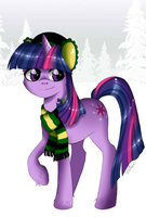 Winter Twilight Sparkle by Musapan