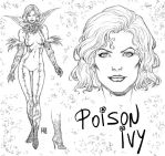 Poison Ivy by wgpencil
