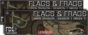Flags And Frags - FDL S1 Wk1 by JukEboXAuDiO