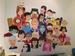 My wall is amazing 3 WIP by isamadworld52