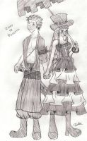 Zoro and Perona - 2Y by Camilicks