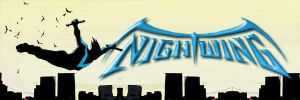 Nightwing Banner Phase 1 by heyPierce