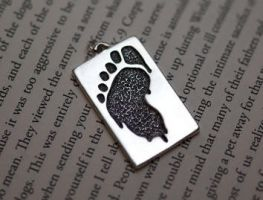 Wookiefoot Logo Pendant 1 by whiskey1973