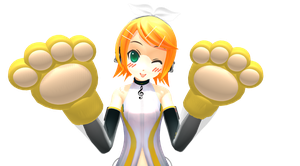 Paws gloves DL by TotodileDash
