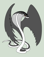 Winged Cobra Adopt CLOSED by SavannaEGoth
