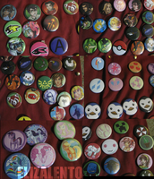 AN 2012 Buttons by ElizaLento