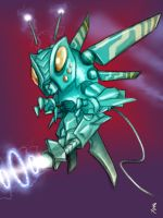 Mecha Mothra by Silverhertz
