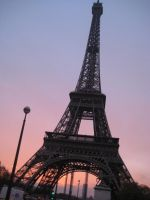 Eiffel Tower- Paris, France by VodkaChanLovesYou