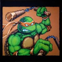 TMNT - Michaelangelo by Squarepainter