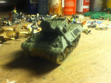My Flames of War M10 Achilles WIP by Lawrence237