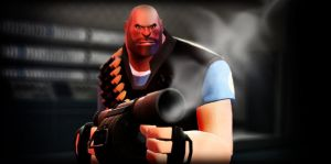 Heavy with a Sticky Launcher by DizNot