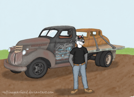 LoneWolfLuke and his rig by RedlineGearhead