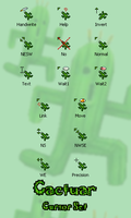 Cactuar Cursor Set by UltimeciaFFB