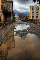 Backstreet Puddles I by neoweb