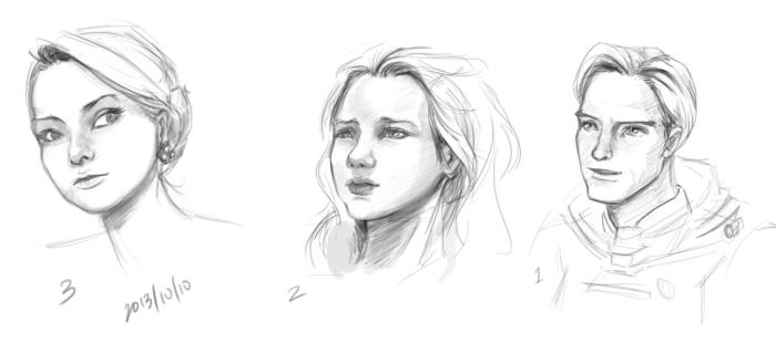 Nose and Face Practice by salva-nos