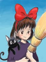 Kiki's Delivery Service by zdrer456