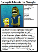 1001 Animations: SpongeBob Meets the Strangler by spongebobdrwhofan