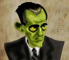 zOMBIE KARLOFF by Makinita