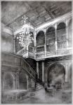Palace in Moszna interior by lizard-e-a