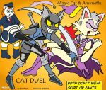 Wizard Cat Duel by Malort75